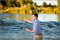 Senior Portraits Fly Fishing