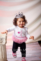 Floriana's First Birthday Portrait session